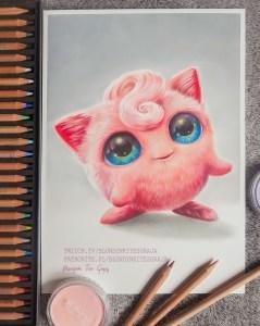 Jigglypuff realistic Pokemon