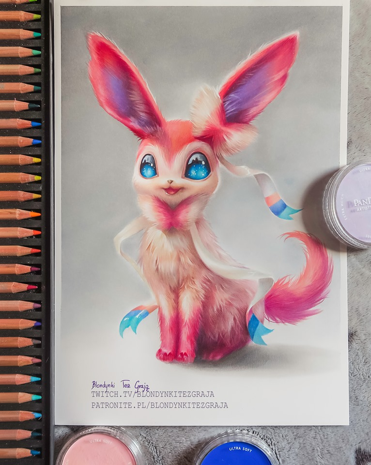 Sylveon realistic Pokemon