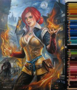 Redhead by blondynkitezgraja
