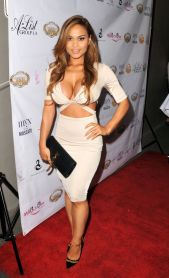 DAPHNE JOY at Basketball Wives Premiere Party in Los Angeles