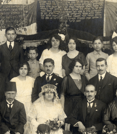 Aleppo Jewish Wedding 1914