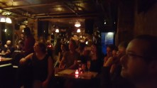 A great crowd. Thank you to the staff at Lovecraft Bar !
