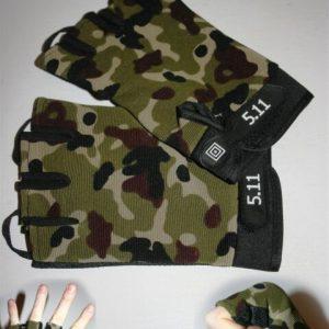 Handschoen zonder vingers - Camouflage