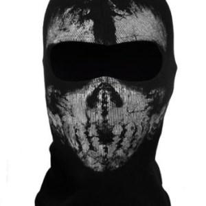 Bivakmuts Balaclava Katoen - Skull #2