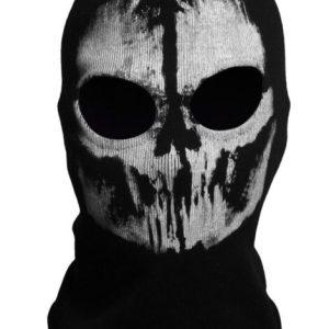 Bivakmuts Balaclava Katoen - Skull #3