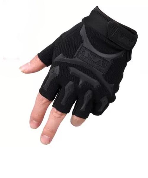 Tactical Gloves zonder vingers- Zwart
