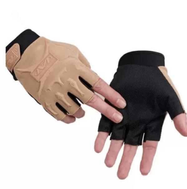 Tactical Gloves zonder vingers - Khaki Tan