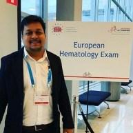 Dr Sujeet Kumar EHA Exam Amsterdam