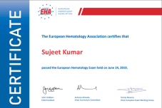 EHA Certification 2019