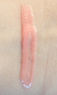 gloss clarins waterlily swatch