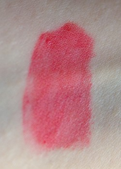 coral ink sephora swatch