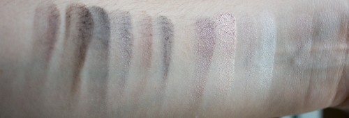 butt naked nyx swatchs