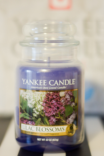 YANKEE CANDLE  Lilac blossom-1
