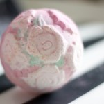 Bombe de bain Rose Bombshell de Lush