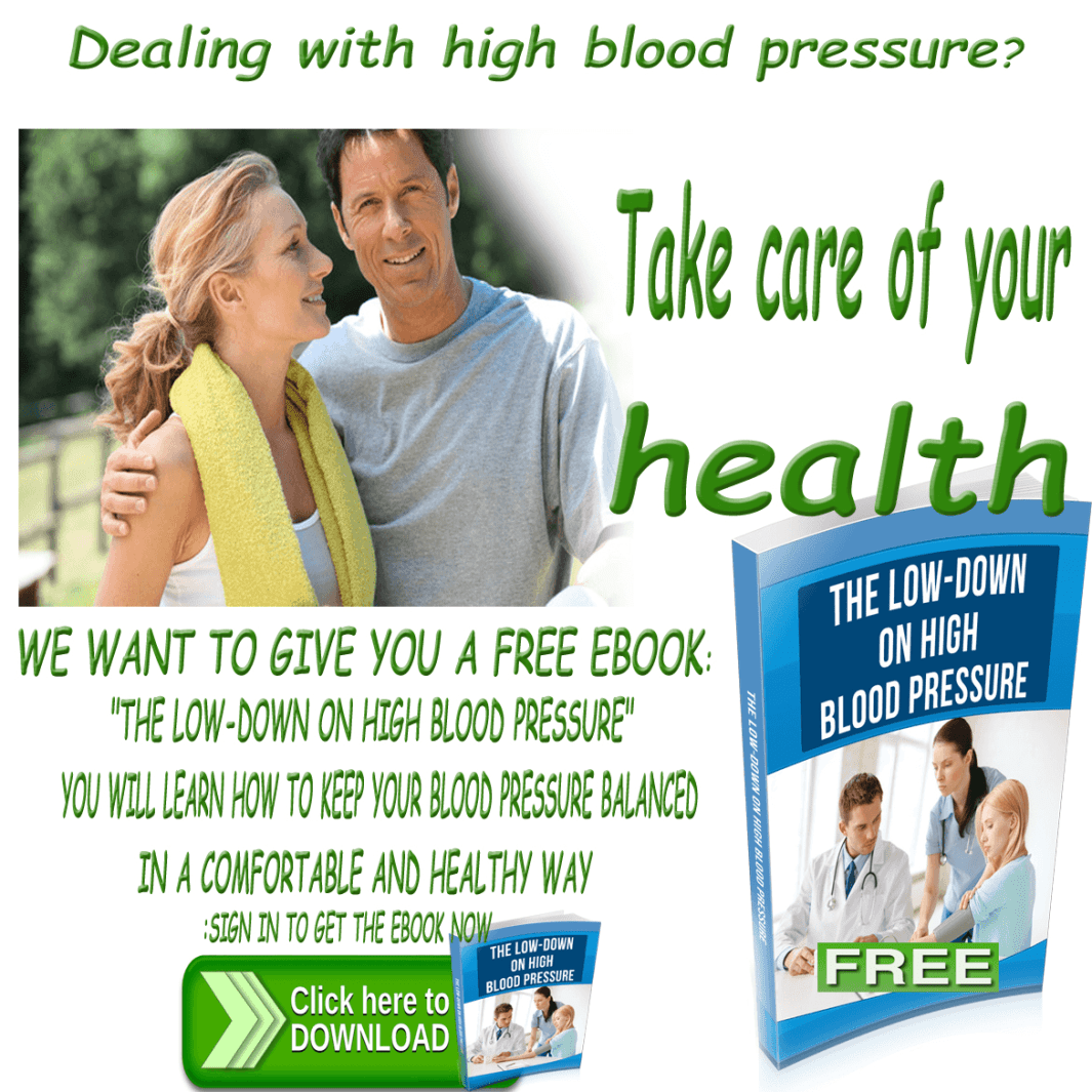 Dealing with high blood pressure-