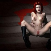 Great picture of naked Bloodrayne - for all who likes slutty gothic chicks!