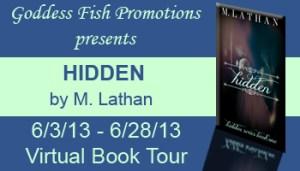 M. Lathan's Hidden features a paranormal thriller.