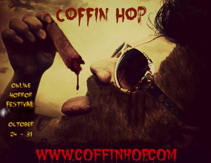 badge advertising Coffin Hop tour