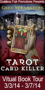 Strandberg authored mystery and intrique of Tarot Card Killer