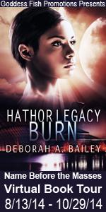 Debroah Bailey's Hathor Legacy features science fiction.