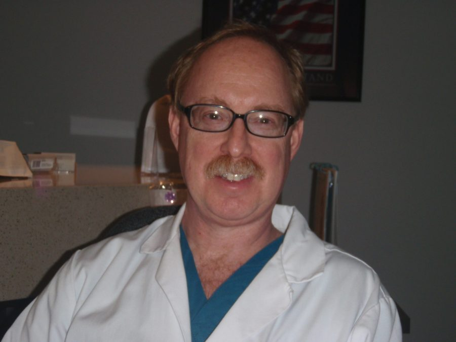 Author of Night Clinic