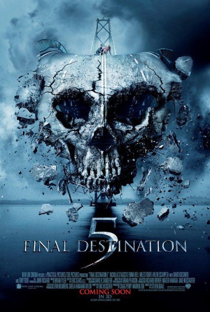 Final Destination 5 3D - poster