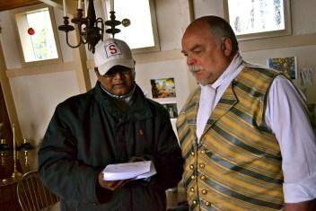 Director Swamy Kandan and Richard Riehle