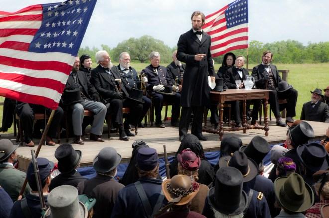 ALVH-060 - Abraham Lincoln (Benjamin Walker) makes an historic speech.