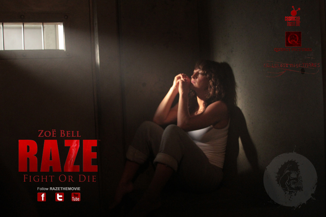 official website for raze fight launches with cast
