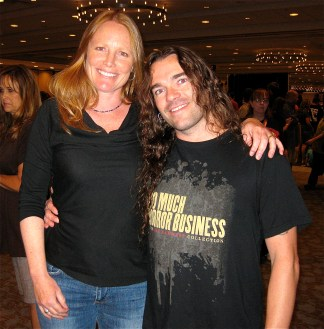 2 Jeremy Wagner & Amy Steel from Friday the 13th Part II