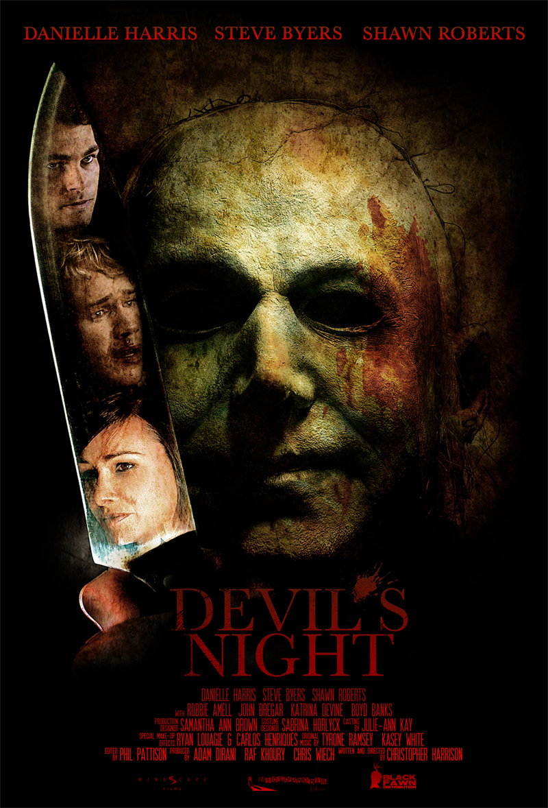 Danielle Harris Toplines 'Devil's Night', Now On Home Video