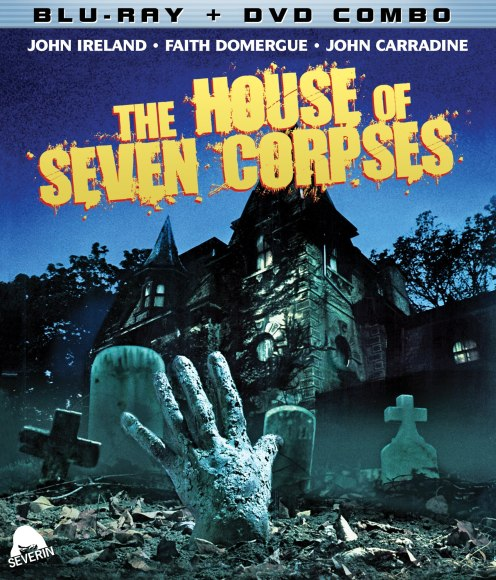 House of Seven Corpses Blu Keyart