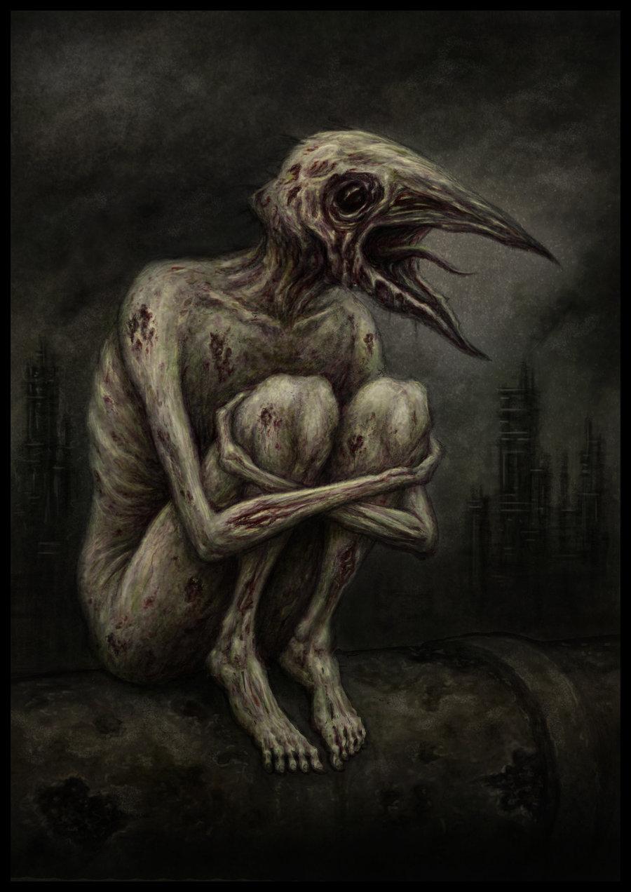 No These Creature Illustrations Aren T Silent Hill Concept Art