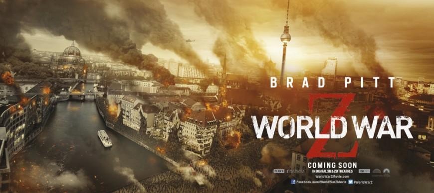 See Worldwide Destruction In These 'World War Z' Banners