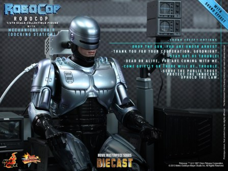 Hot Toys - RoboCop - RoboCop with Mechanical Chair (Docking Station)_PR7