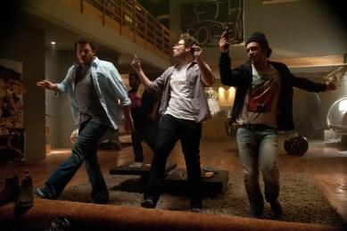 Seth Rogen;James Franco;Danny McBride;Craig Robinson