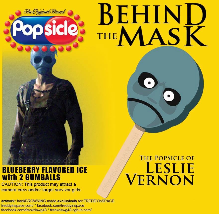 Behind the Mask Popsicle