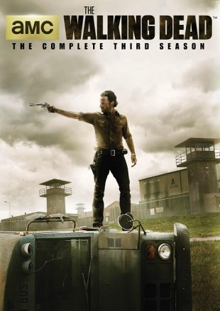 Walking Dead S3 DVD flat