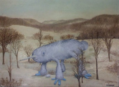 adding-monsters-to-thrift-store-landscape-paintings-chris-mcmahon-5