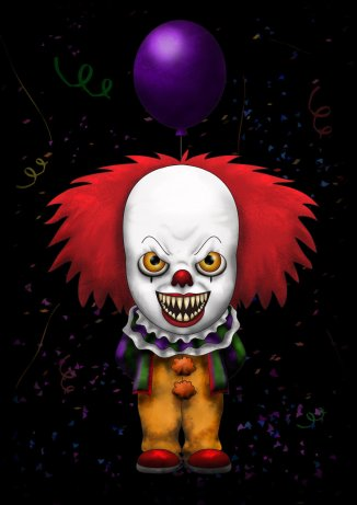 pennywise_by_lauramei-d4tcr3j