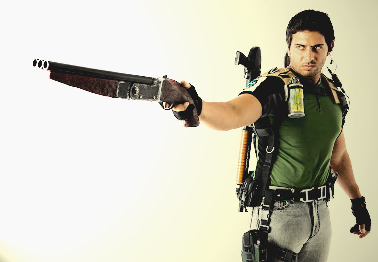 Freaky Fashion This Chris Redfield Cosplay Is Spot On