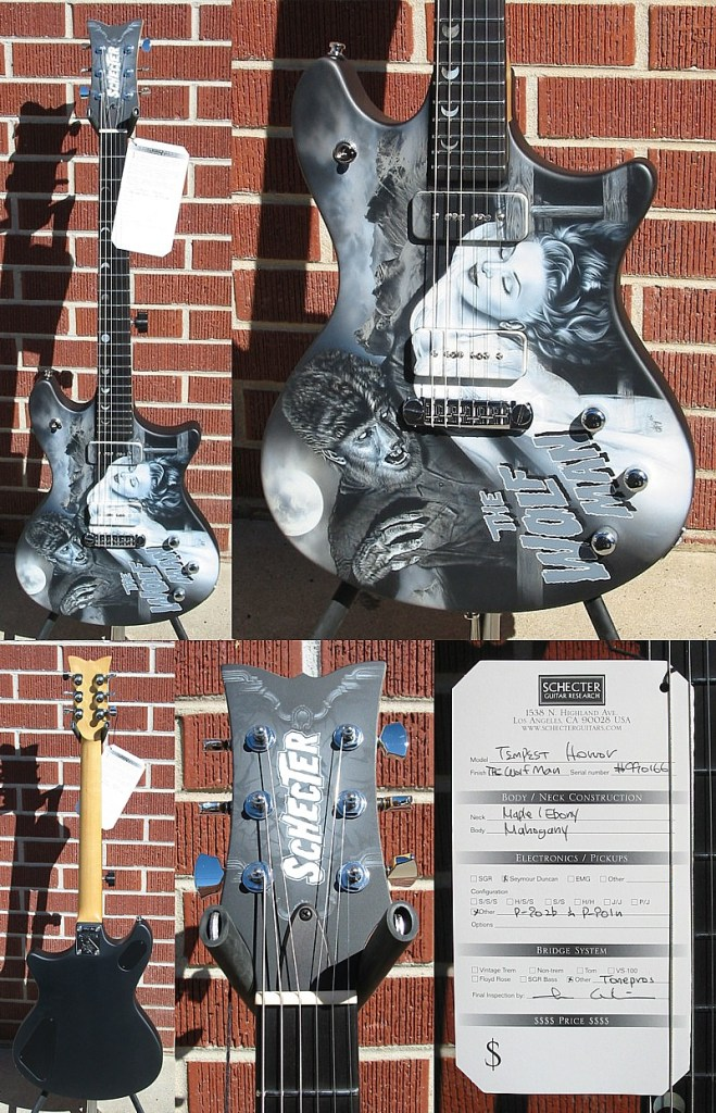 Schecter 2007 USA CUSTOM SHOP THE WOLFMAN 6-String Electric Guitar