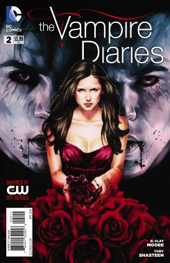 Vampire Diaries 2 Print Cover