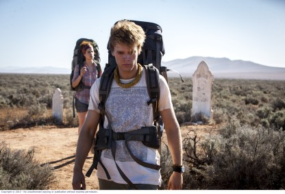WolfCreek2_Front Phillipe Klaus as Rutger and rear Shannon Ashlyn as Katarina_bush grave