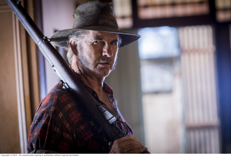 WolfCreek2_John Jarratt as Mick Taylor _ in farmhouse