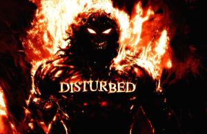 disturbedbannerflames