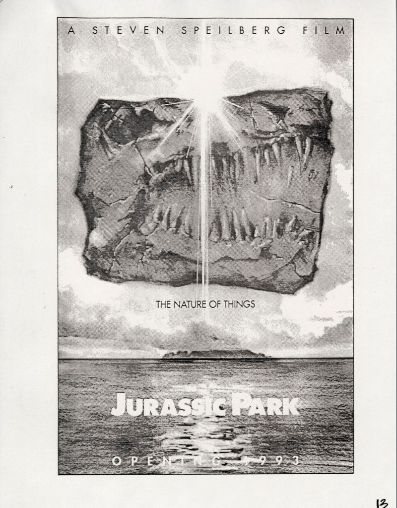 John Alvin – Jurassic Park poster – 13