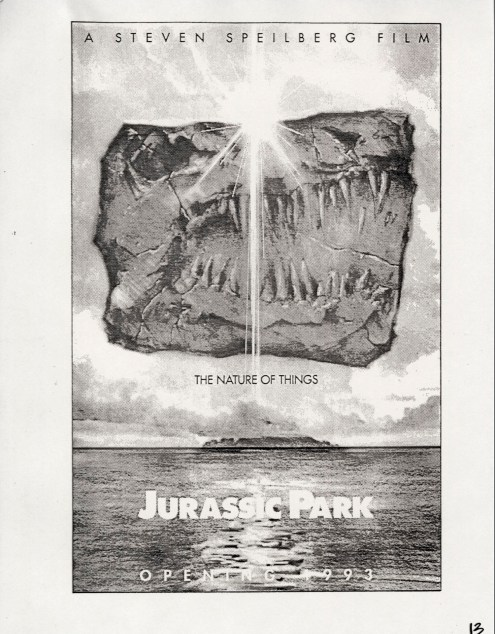 John Alvin - Jurassic Park poster - 13