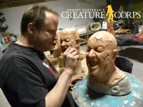 Sean Rodgers Paints silicone transformation heads