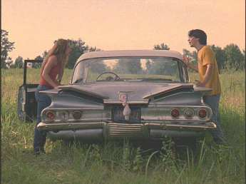 Well,back at the scene in the cafeteria, he entered darry and trish's car, and went for his clothes. Jeepers Creepers Screen Used Car Up For Auction